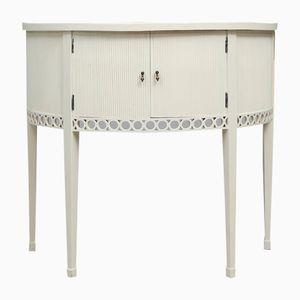 Table Console Antique Demi-Lune Gustavienne