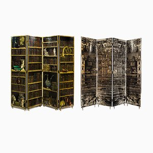 Vintage Folding Screen by Piero Fornasetti