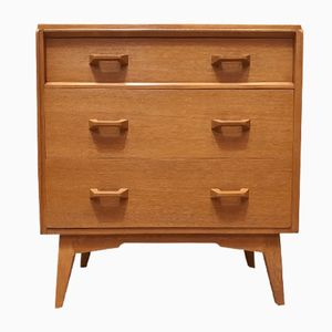 Mid-Century Vintage Brandon Range Oak Chest of Drawers from G-Plan