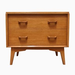 Mid-Century Brandon Range Small Oak Chest of Drawers from G-Plan