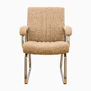 Mid-Century Danish Rosewood & Fabric Desk Chair