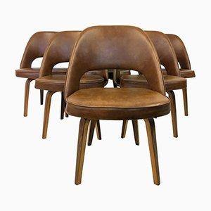 Vintage Executive Stühle von Eero Saarinen für Knoll, 6er Set