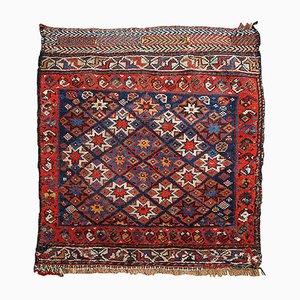 Antique Persian Khamseh Handmade Rug, 1880s