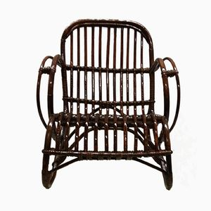 Children's Rattan Chair from Rohé Noordwolde, 1960s