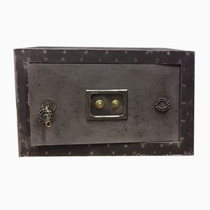 Vintage Incombustible Industrial Safe