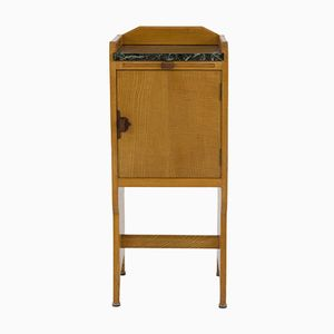 Art Deco Amsterdam School Nightstand by Paul Bromberg for Pander, 1920s