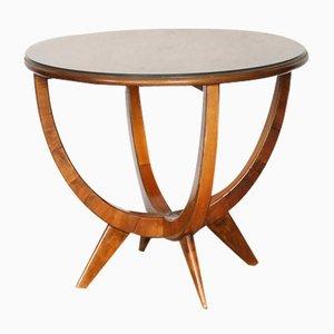 Polish Walnut Table from Bydgoskie Fabryki Mebli, 1950s