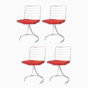 Vintage Chairs by Boris Tabacoff, Set of 4