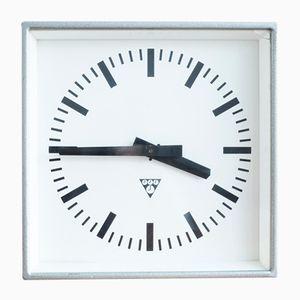 Czechoslovakian C 301 Station Clock from Pragotron, 1980s