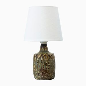 Small Ceramic Pedestal Table Lamp by Gunnar Nylund for Rörstrand, 1950s
