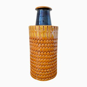 Italian Ceramic Vase by Aldo Londi for Bitossi, 1970s