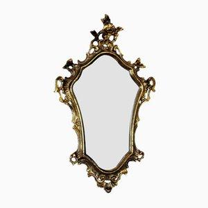 Vintage Bronze Mirror