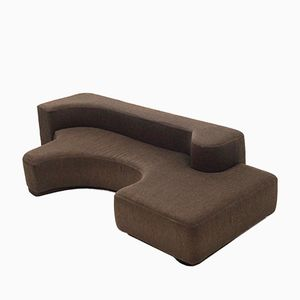 Sculptural Lounge Sofa Space Age Seating Element, 1970s