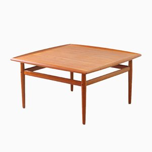 Teak Coffee Table by Grete Jalk for Glostrup, 1950s