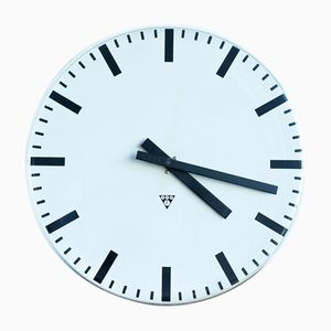 Horloge de Station PK 30 de Pragotron, 1990s
