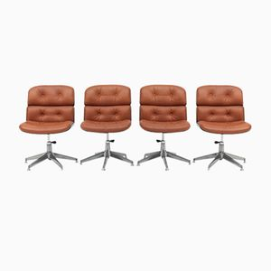 Mid-Century Chairs by Ico & Luisa Parisi for MIM, Set of 4
