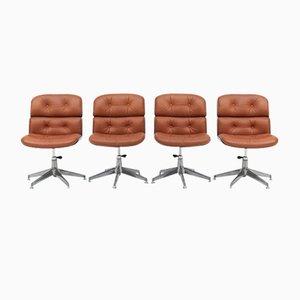 Mid-Century Stühle von Ico & Luisa Parisi für MIM, 4er Set