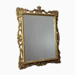 Antique Ornate Wall Mirror