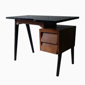 Vintage Schreibtisch mit Konischen Beinen