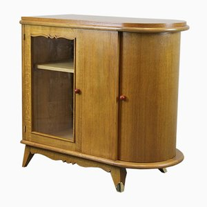 French Art Deco Oak Buffet