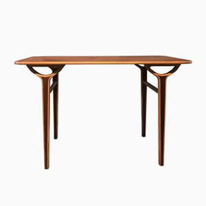 Vintage AX Side Table by Peter Hvidt for Fritz Hansen