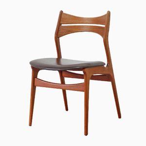 Modell 310 Teak Stuhl von Erik Buck für Christian Christensen, 1960er
