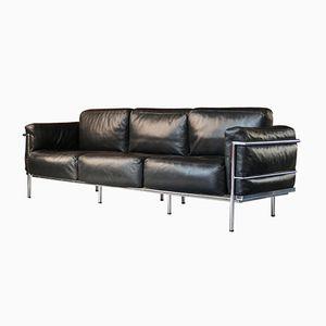 Vintage Grand Confort LC3 Drei-Sitzer Sofa von Le Corbusier, P. Jeanneret, & C. Perriand für Alivar