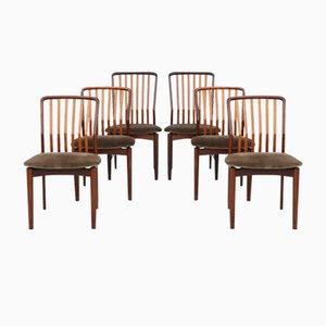 Esszimmerstühle von Svend Aage Madsen, 1960er, 6er Set