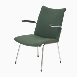 Dutch Dark Green Armchair from Gebroeders De Wit, 1950s
