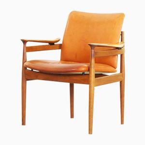Vintage Armlehnstuhl von Finn Juhl für France & Daverkosen