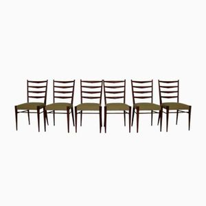 Dining Chairs in Teak by Cees Braakman for UMS Pastoe, 1960s, Set of 6