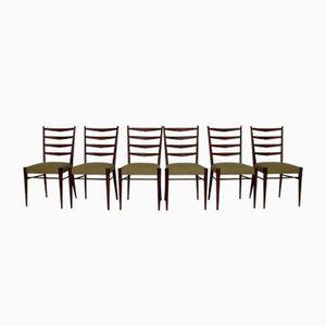 Esszimmerstühle aus Teak von Cees Braakman für UMS Pastoe, 1960er, 6er Set