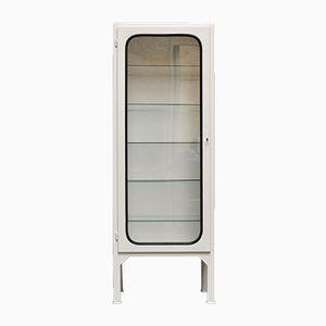 Vintage Glass & Iron Medicine Cabinet, 1975