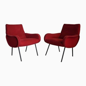 Armchairs by Marco Zanuso, 1951, Set of 2