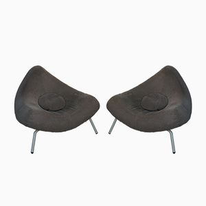 Vintage Chili Armchairs by Paul Falkenberg, Set of 2