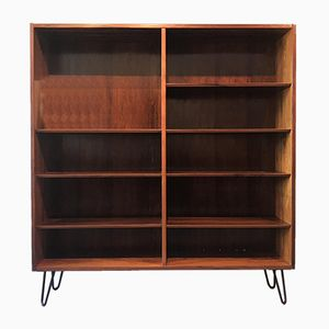 Vintage Nordic Rosewood Bookshelf from Hundevad & Co.