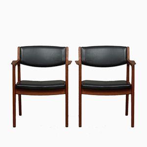 Teak Stühle von Eric Buch für Orum, 1960er, 2er Set