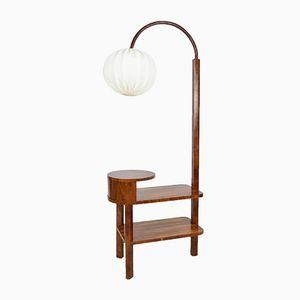 Vintage Art Deco Bodenlampe