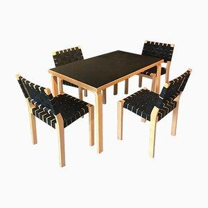 Vintage Dining Set by Alvar Aalto for Artek
