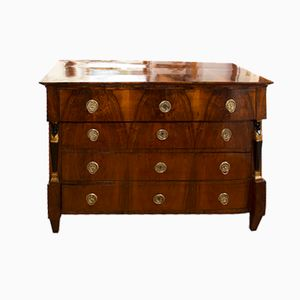 Antique Biedermeier Chest of Drawers, 1830s