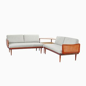 453 & 519 Sofa System by Peter Hvidt & Orla Mølgaard Nielsen for France & Daverkosen, 1954