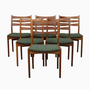 Stühle aus Eiche & Teak von Skovby, 1960er, 6er Set