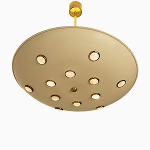 Mid-Century Modern Italian Ceiling Light by Stilnovo
