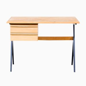 Birch Wooden Writing Desk, 1960s