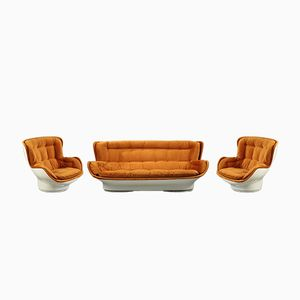 Karate Chairs and Sofa by Michel Cadestin for Airborne International, 1970s