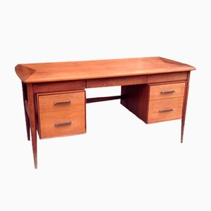 Scandinavian Teak Office Desk from Ramseur Furn, 1960s