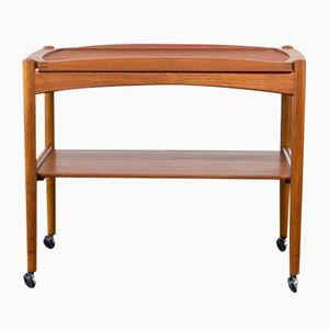 Tavolino in teak di Poul Hundevad per Hundevad & Co, anni '60