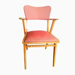 Chaise de Bureau avec Structure Compas, 1960s