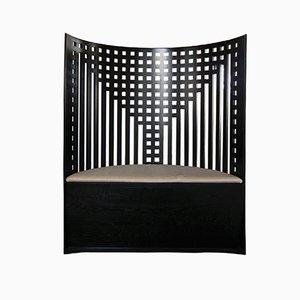 Willow Armlehnstuhl von Charles R. Mackintosh für Cassina, 1970er