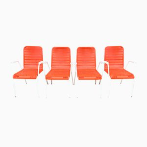 German Vintage Garden Chairs from Nistac, 1970s, Set of 4